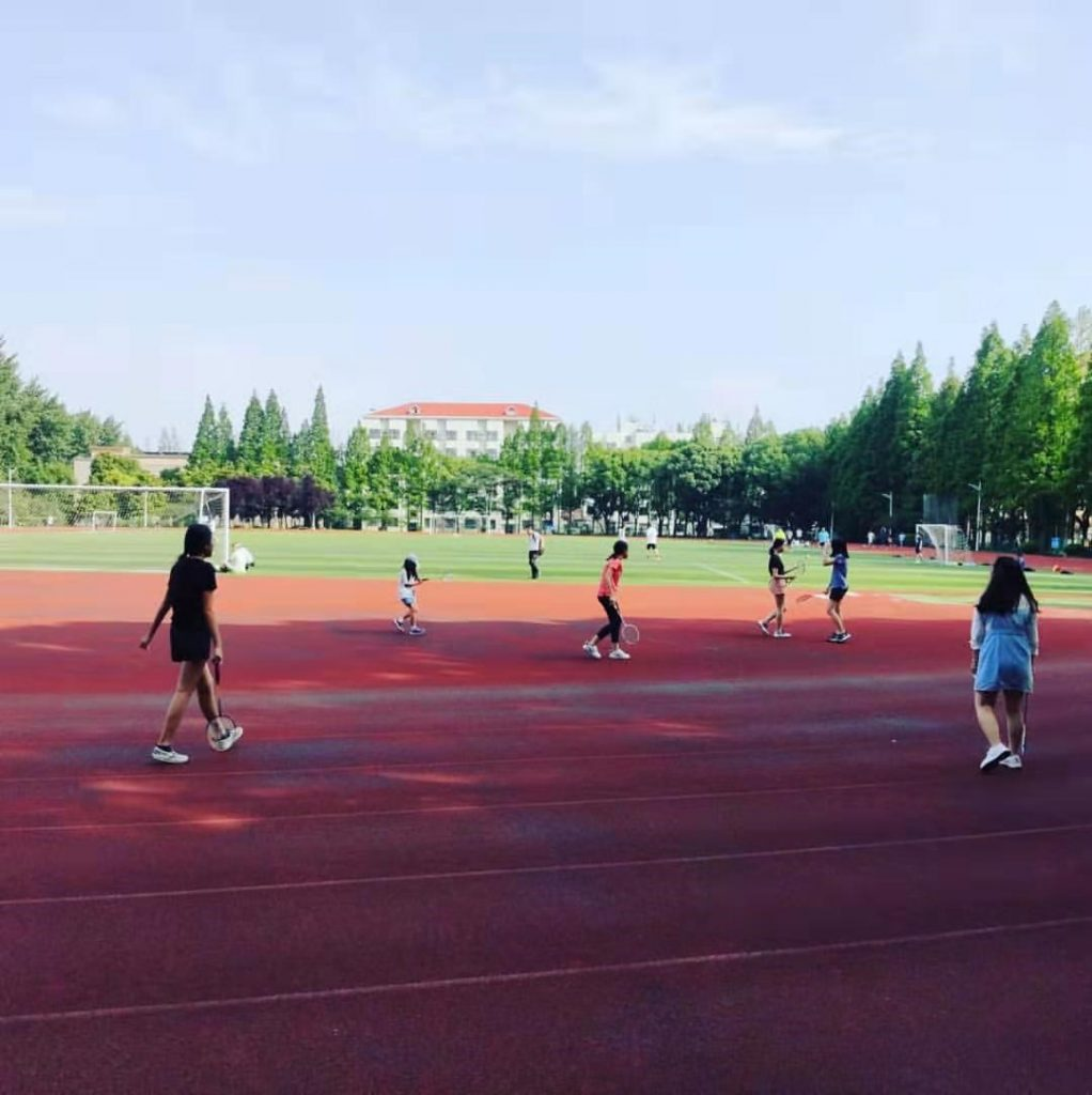 Sports activities - Chinese summer camp 2020