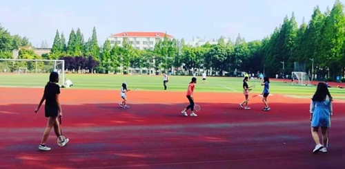 Sports activities - Chinese summer camp